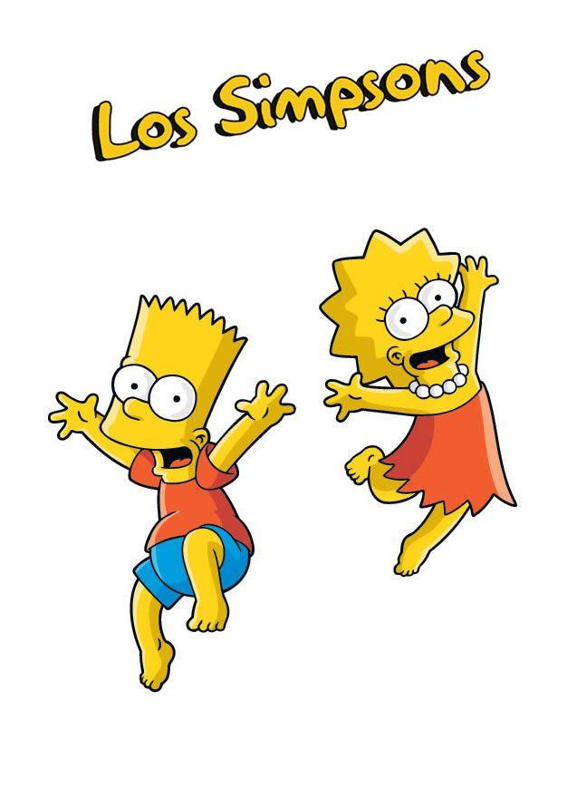 Lisa and bart simpson lisa simpson bart simpson simpson tattoos in 2019 dibujos de los - Marge simpson et bart ...