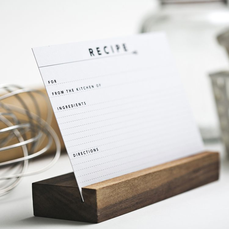 Recipe Card Set Recipe Card Holders Recipe Card Set Recipe Cards