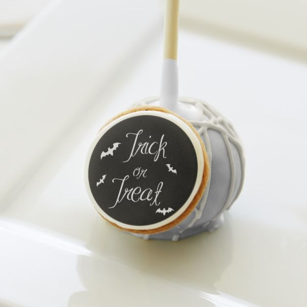 Black & White Trick or Treat Halloween Party Cake Pops # ...