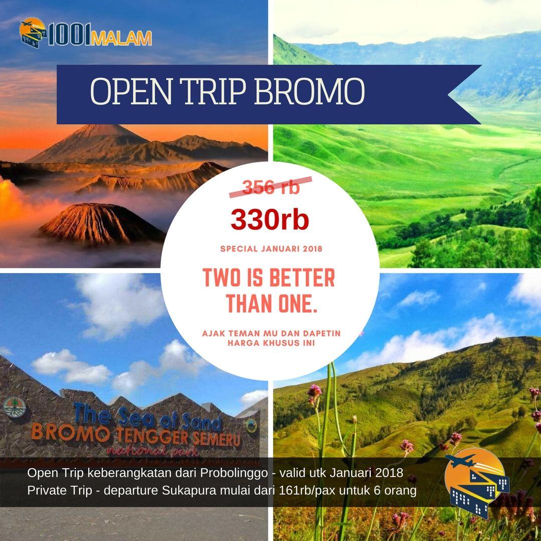 Open Trip Bromo Super Spesial Di Bulan Januari Ini Starts