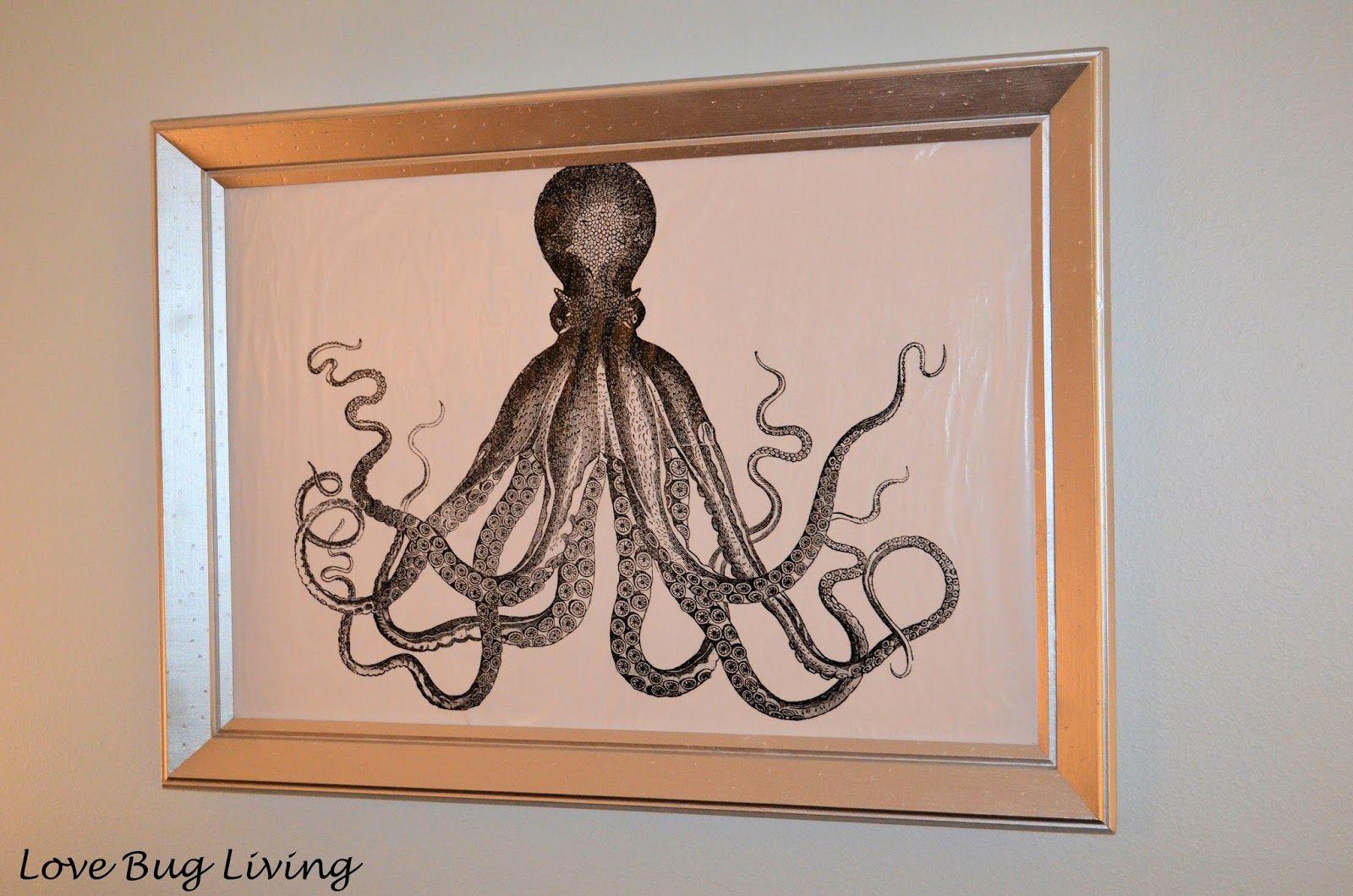 Octopus Canvas Art DIY Diy canvas art, Art, Canvas art