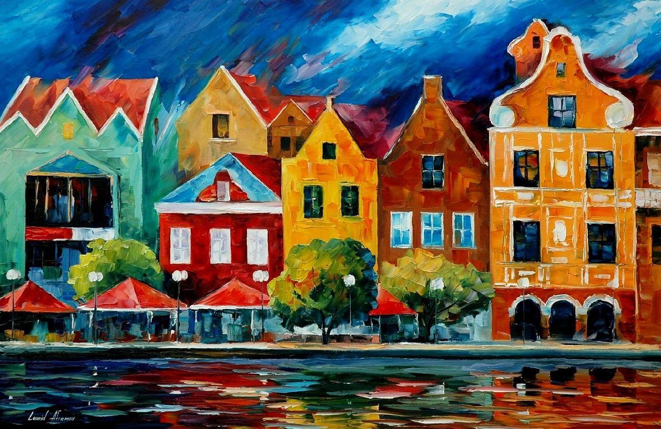 картинки города красками спецодежды для электромонтеров