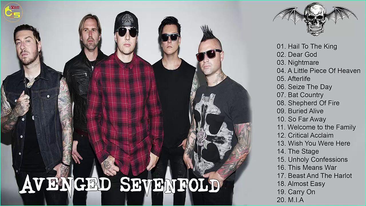 Avenged Sevenfold Greatest Hits Full Album The Best Of Avenged