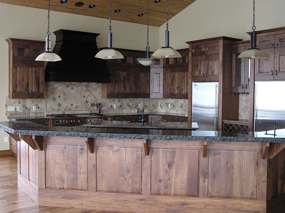 15 rustic kitchen cabinet ideas for your lovely nest rustic kitchen cabinets rustic kitchen on kitchen hutch id=99297