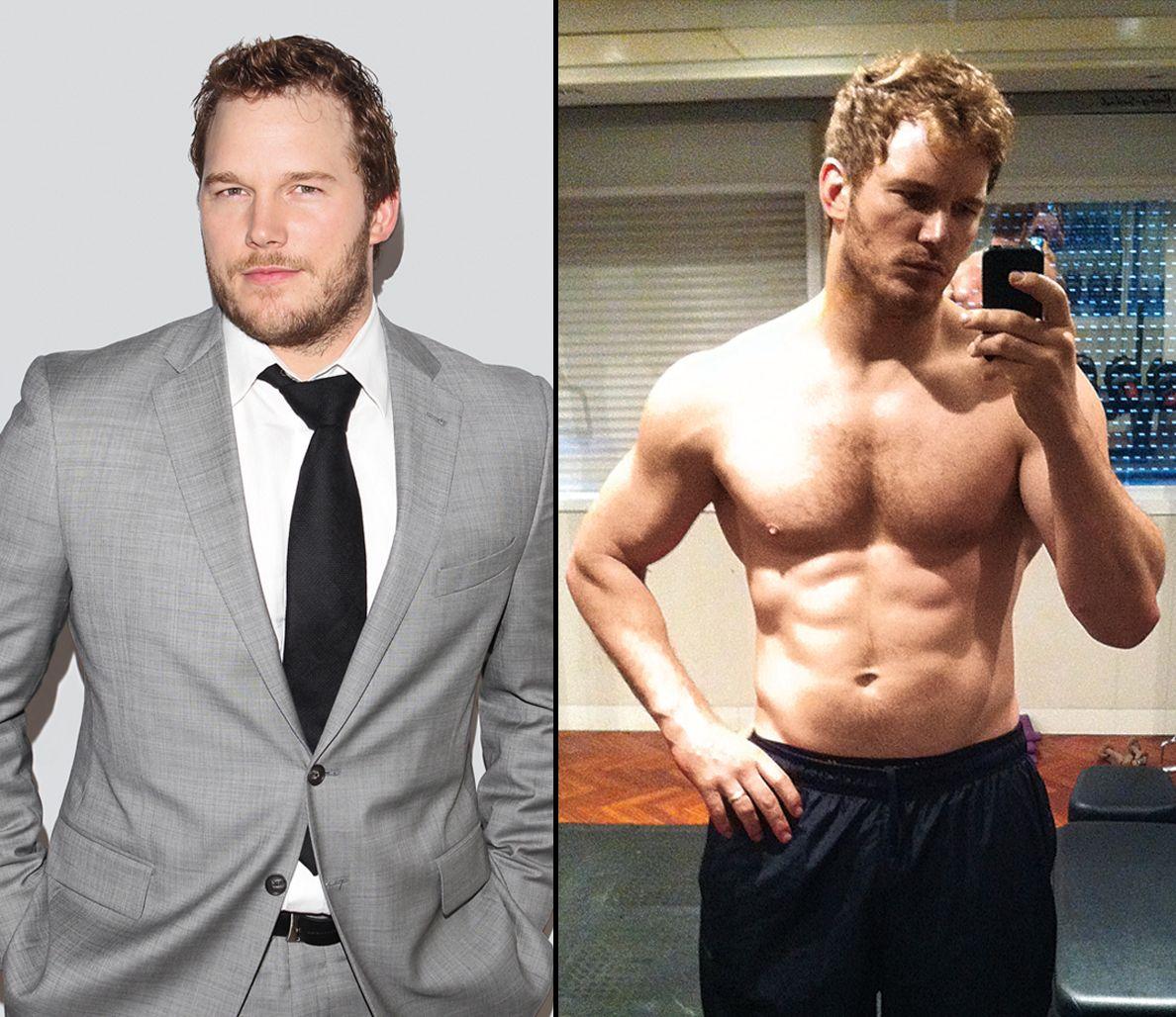Chris Pratt cambio de peso