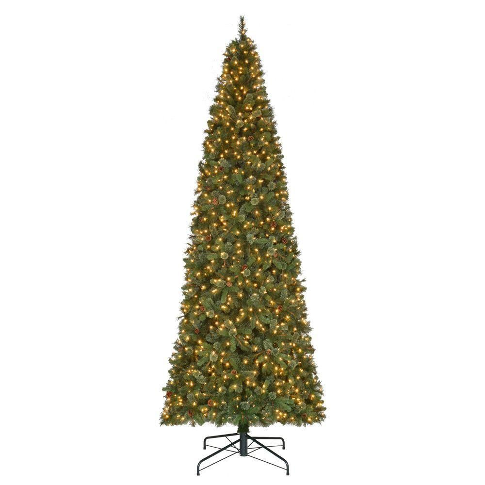 15 ft. Pre-Lit LED Alexander Pine Artificial Christmas Tree x 5250 ...