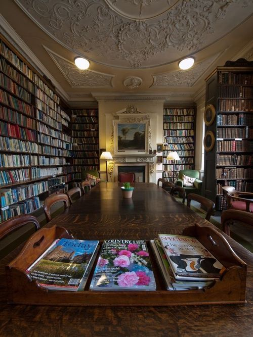 "coisasdetere: "" Bromley House Library, Nottingham, UK. """