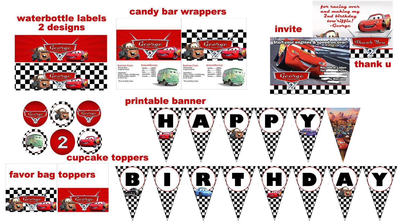Pin by Lestari Belinkov on Cars Birthday in 2018 | Pinterest ...