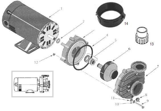 e6f3ba0501f961a9d03d7baf03452b94 intex pump replacement parts sta rite dura jet dj series pumps