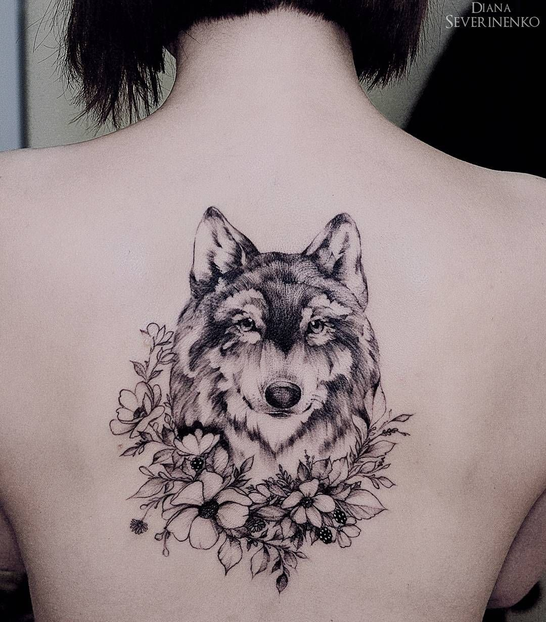 Womens Wolf Tattoo Thigh Tattoos Women Wolf Womens Thigh: Together Maybe...M