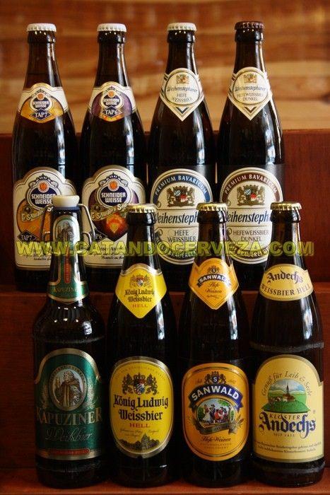Pack Cerveza Alemana De Trigo Cerveza Cerveza Alemana