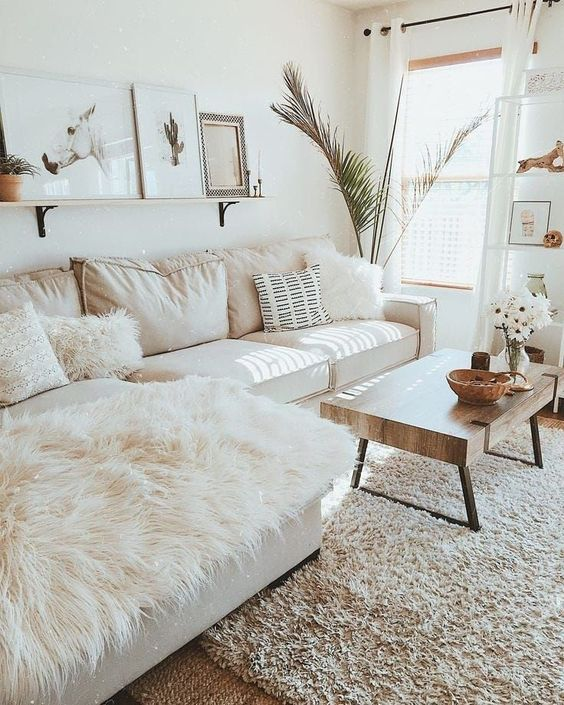 Photo of White Small Living Room Ideas Gor Great Interiors | Decoholi