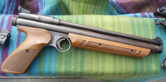 Crosman Vintage Old Model 1377 American Classic  177 Pump