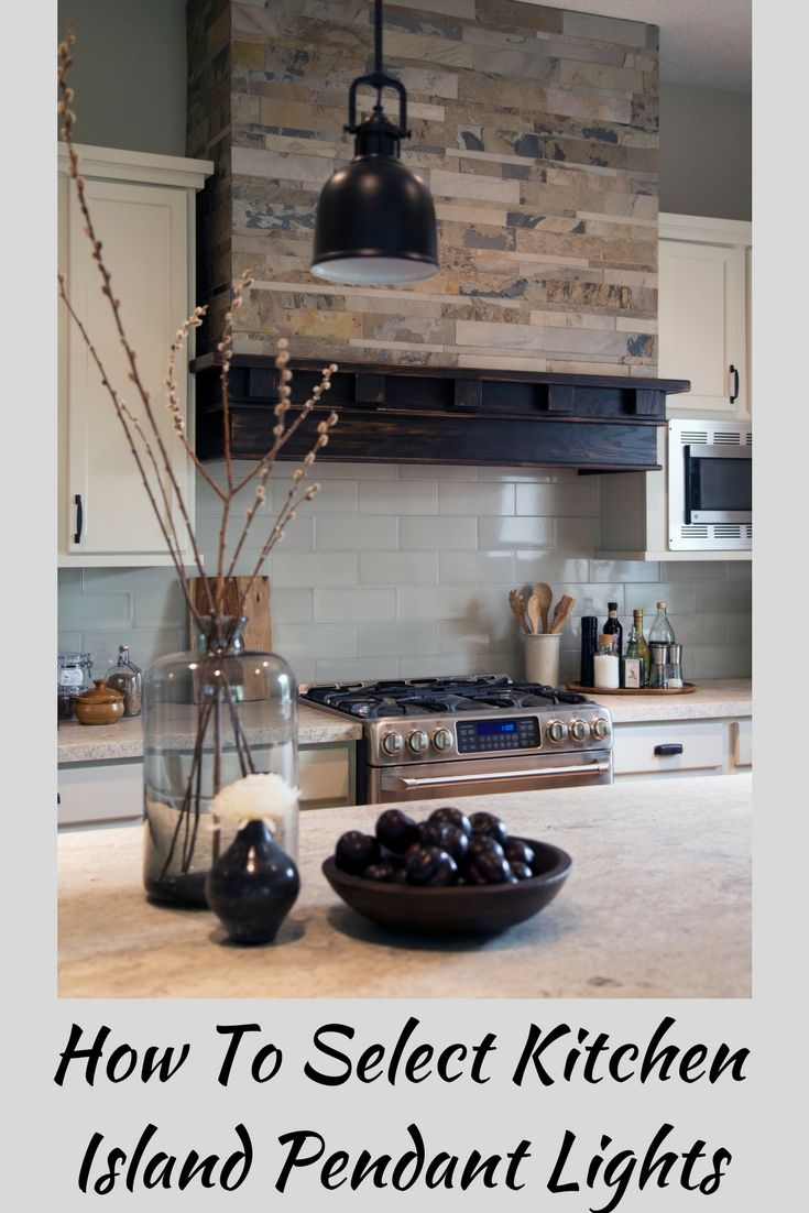 considerations for kitchen island pendant lighting selection