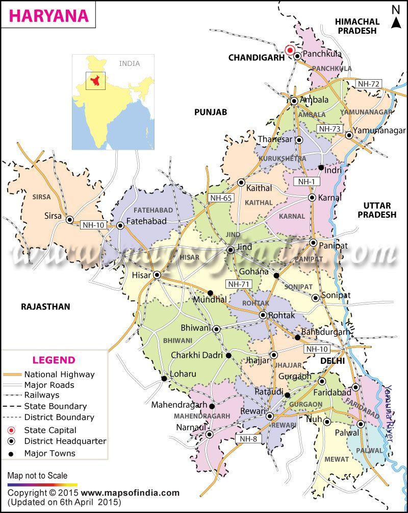 Haryana India Map.Tenders From Haryana Haryana State Tenders Haryana Tenders