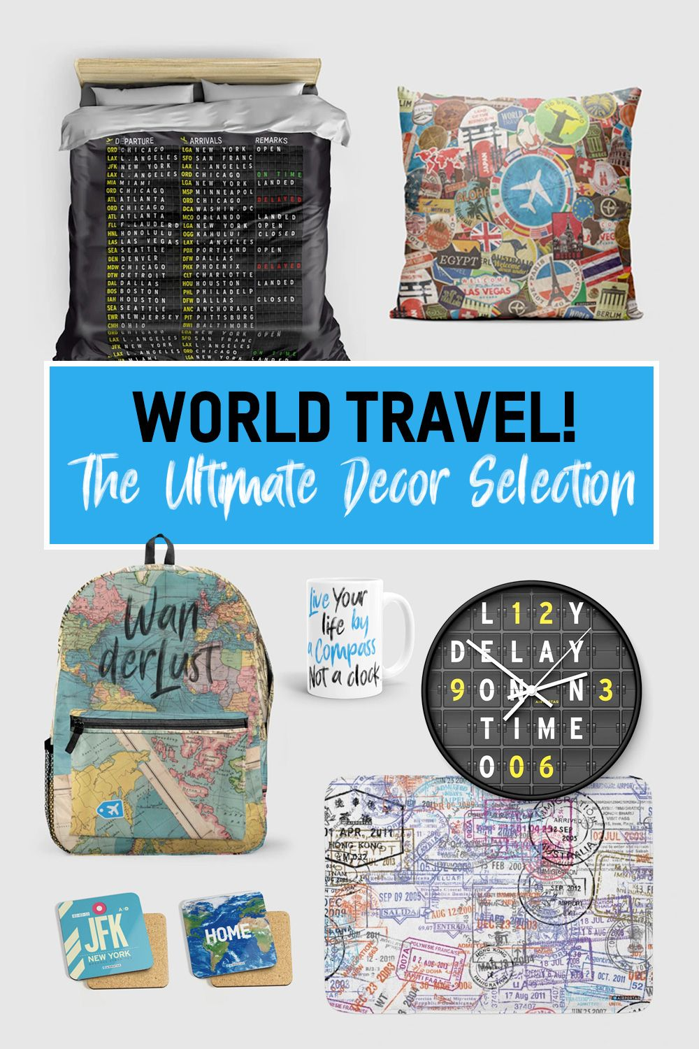 900 Travel Decoration Style Ideas In 2021
