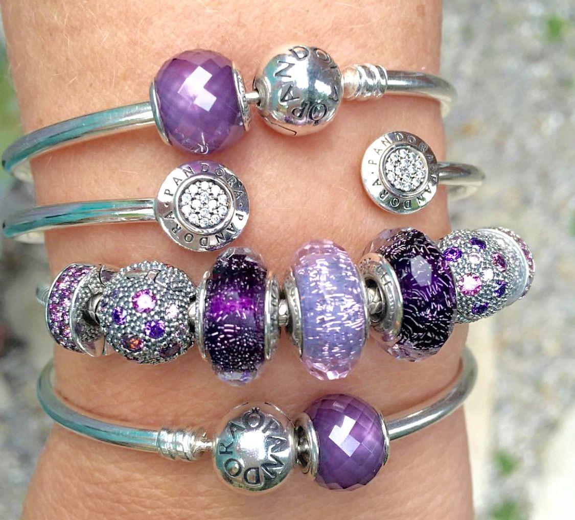 purple pandora pandora pinterest purple bracelets