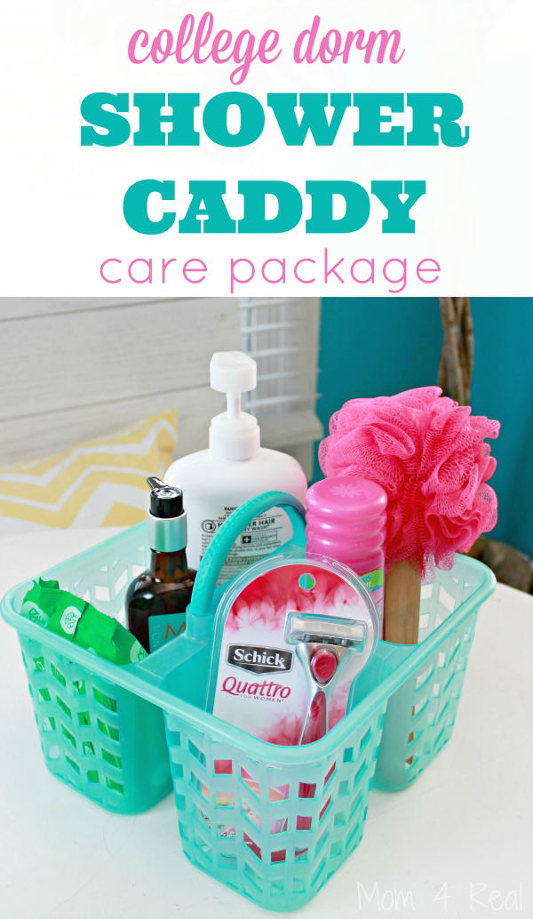 College Dorm Shower Caddy Care Package Idea | Bloggers\' Best Home ...