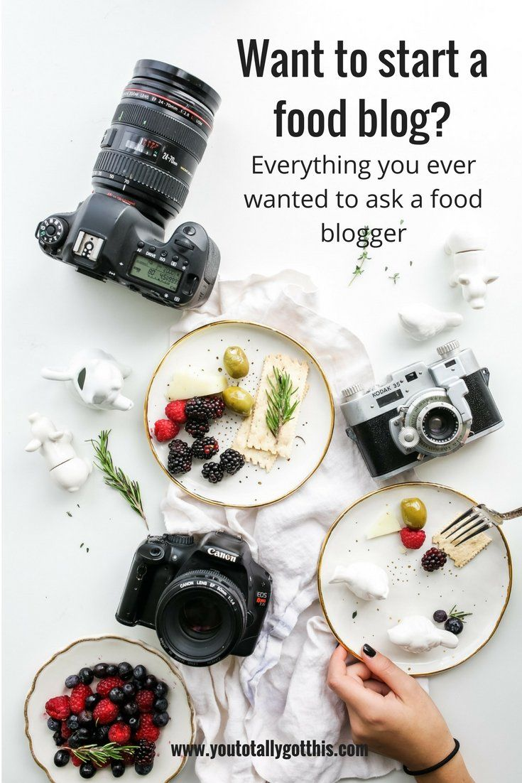 Want to Start a Food Blog? Everything You Ever Wanted to Ask a Food Blogger