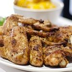Braai Spice Dry Rub Grilled Wings