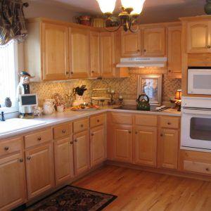 Kitchen Ideas Light Oak Cabinets  Httpdownloadfreescreensavers Fascinating Kitchen Designs With Oak Cabinets 2018