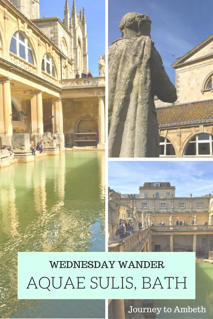 My visit to the beautiful Roman baths in Bath, UK