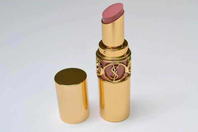 Yves Saint Laurent Rouge Volupté win's in the packaging department. The gold tube with convenient color indicator, true to tone, surrounded by YSL's logo's has a true aesthetic appeal of pure luxur…