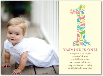 "invitations--""e"" for emmelia in butterflies or maybe a cross? but, Birthday invitations"
