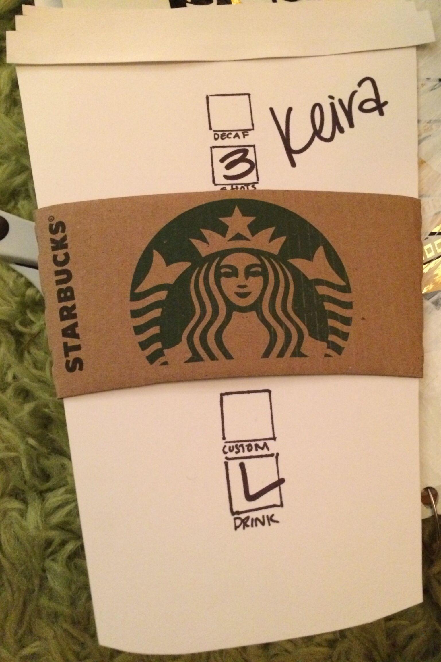Ra door decs  sc 1 st  Pinterest & Spring quarter door decs - Starbucks cups! Use \