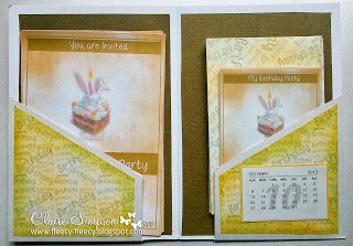 Clairebears x -  Bebunni CD 2 for invites and RSVP's CD 1 for backing papers and to make envelopes also topper