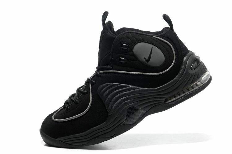 Cheap Hardaway Penny shoes 2012 Nike Air penny 2 black