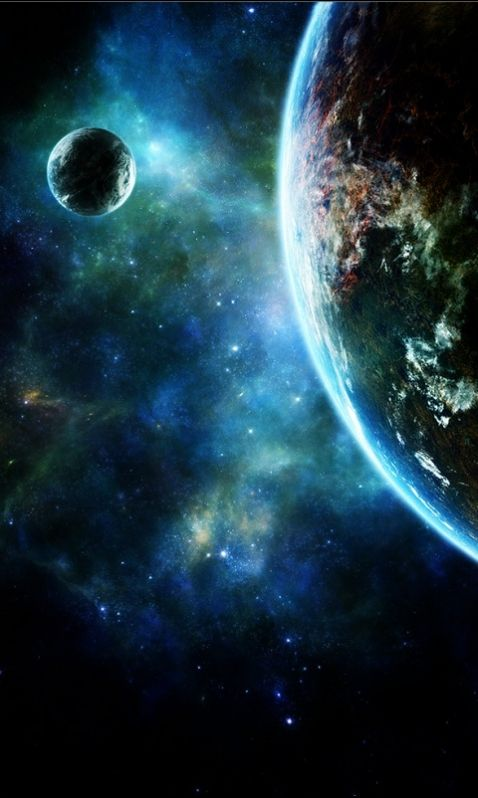 Earth in galaxy wallpaper for iphone Space art, Space