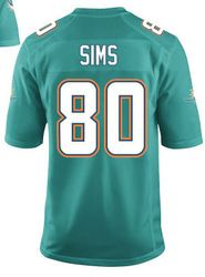 new style f6a08 93fef $78.00--Dion Sims Jersey - Elite Green Home Nike Stitched ...