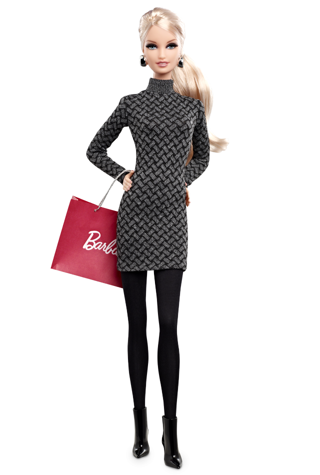 2013 The Barbie Look Collection City Shopper Barbie Doll (Blonde) - Fashion Dolls | Barbie Collector $24,95