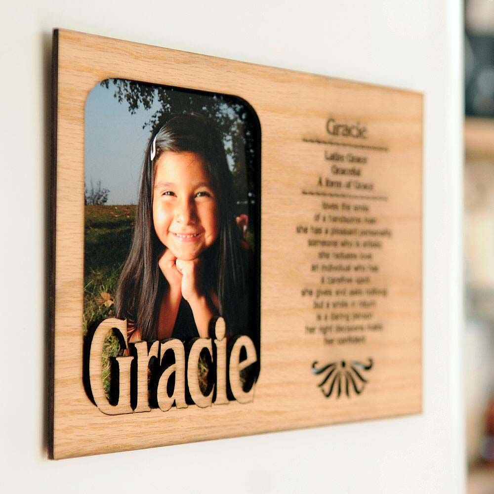 Name Meaning Photo Frames Simply Personalized Baptism