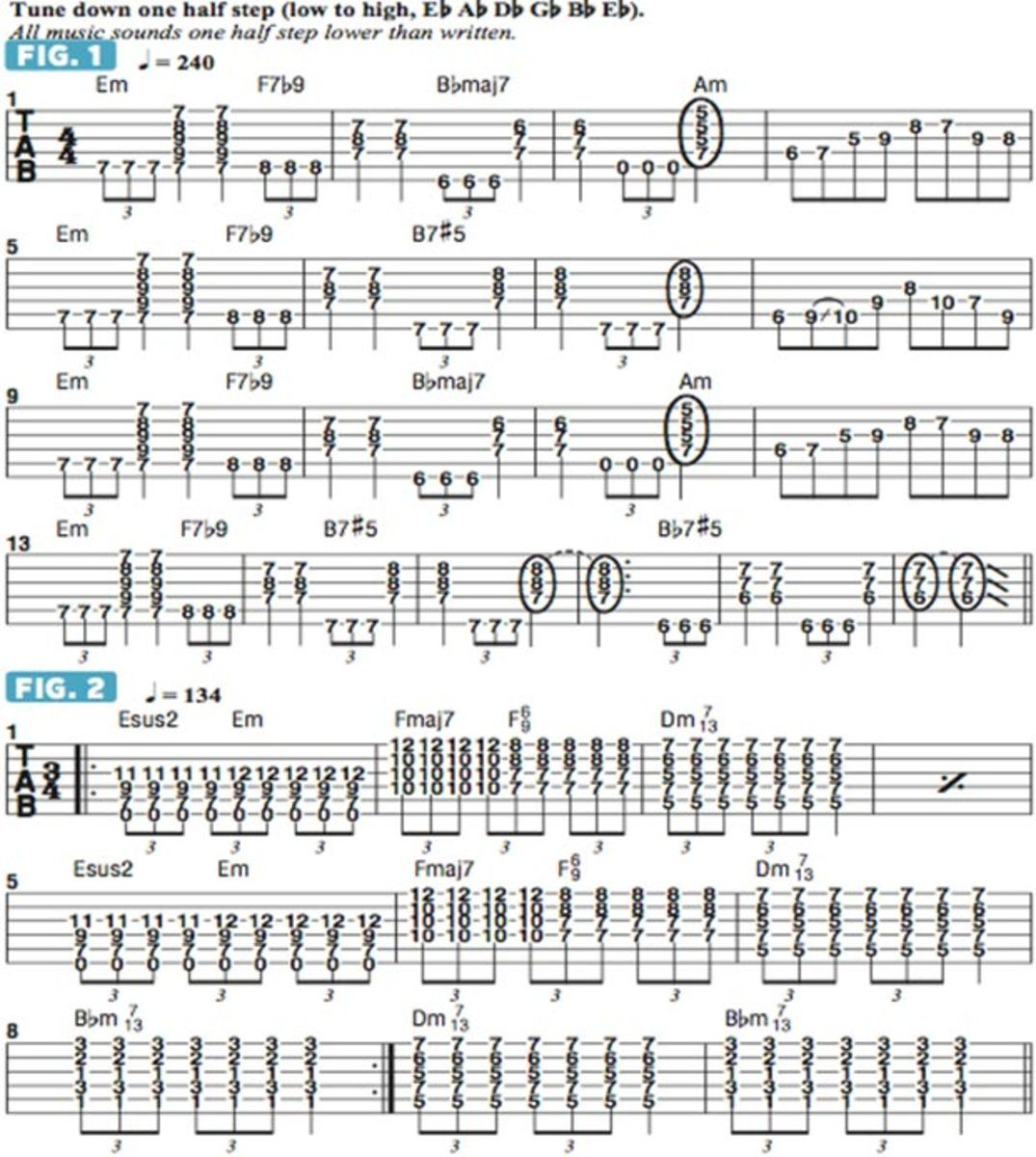 Incorporating Jazz Chords Into Metal Guitar Guitar Lessons