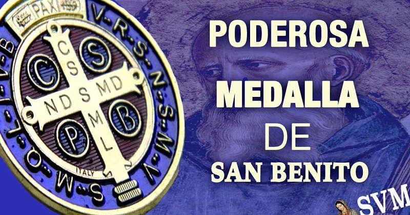 Poderosa Oración De La Medalla De San Benito Oración De Exorcismo De San Benito Santo Del Día 21 D Oraciones Medallas De San Benito Frases Del Amor De Dios