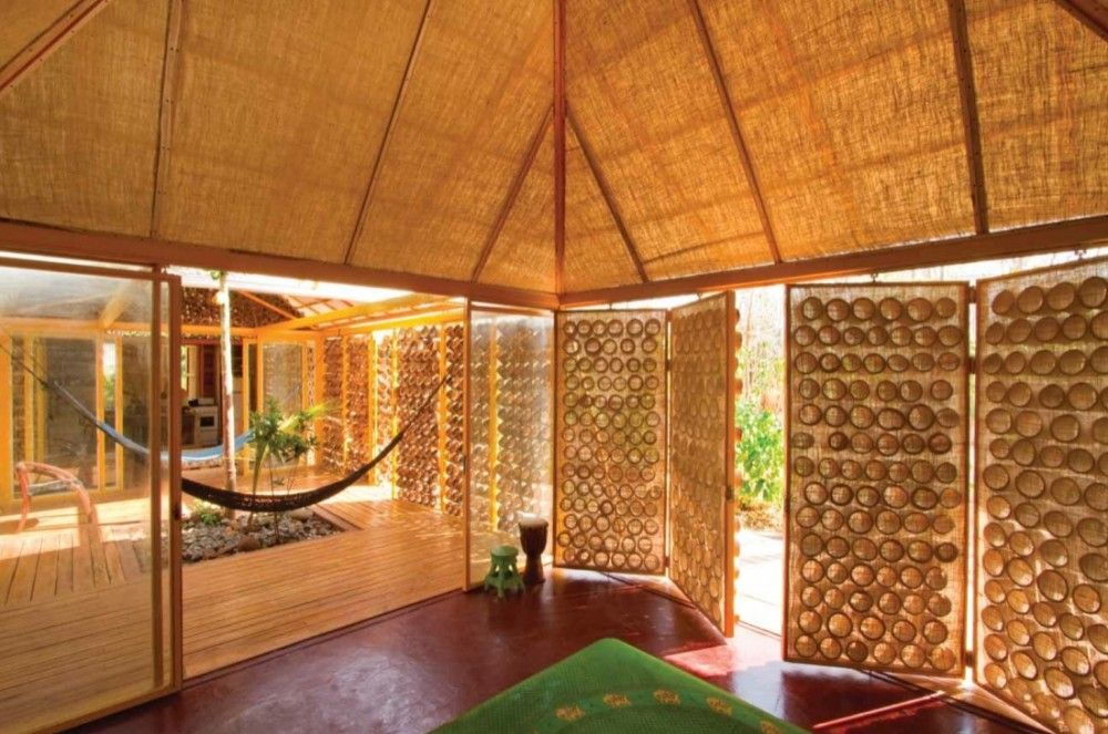 A Forest For A Moon Dazzler Benjamin Garcia Saxe Bamboo House Design Bamboo House Sustainable Architecture
