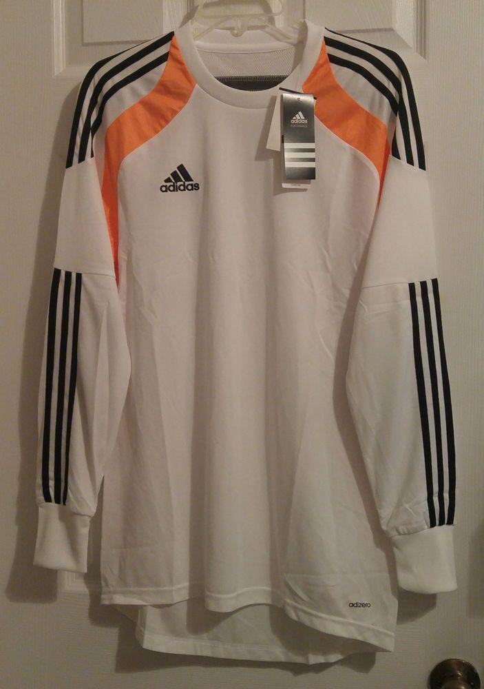NEW Adidas Onore Soccer Goalie GK Goalkeeper Jersey PADDED ClimaCool  Adizero  adidas c535e52dd