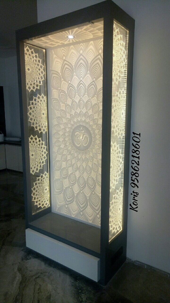 Pooja Room Designs For Flats: Pooja Room Door Design, Meditation Room