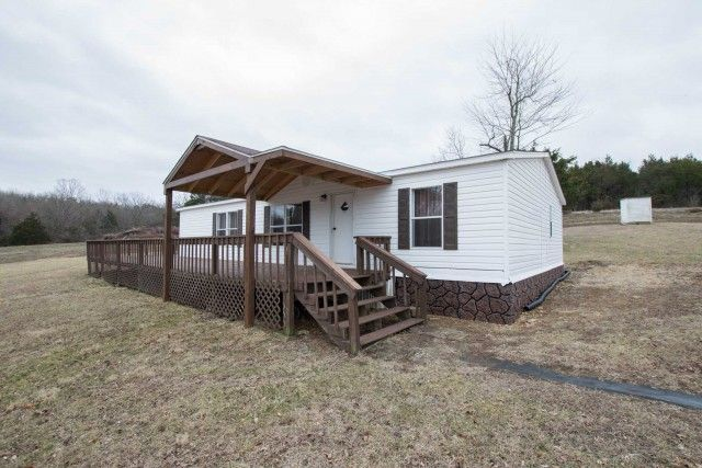 Open Floor Plan 2002 Manufactured Home Is On A Permanent