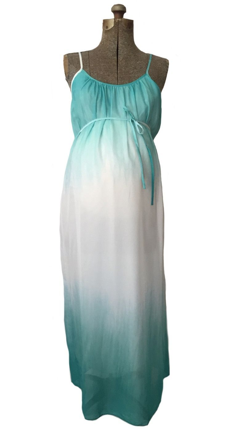 Maven Mint Ombre Maxi Dress from Heritwine Maternity. Perfect for ...