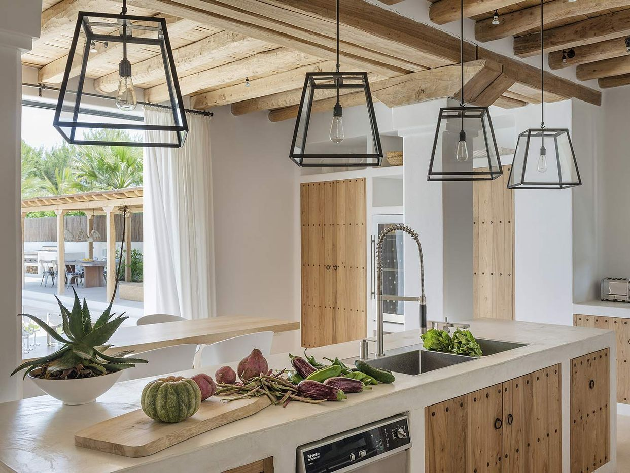 Une maison au naturel à Ibiza (PLANETE DECO a homes world) (avec
