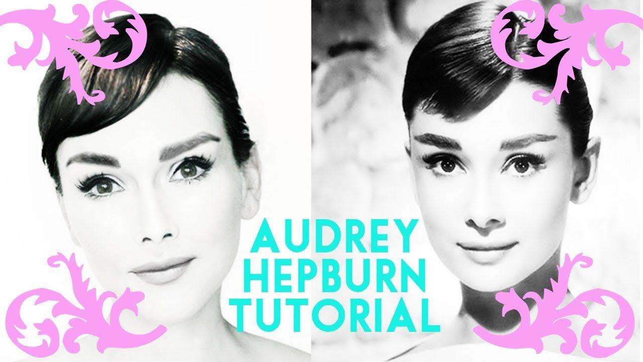 Audrey Hepburn Make Up Tutorial By Kandee Johnson She Is Amazingi