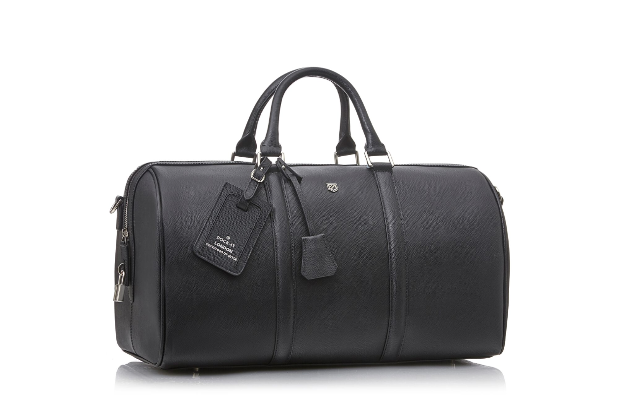 7ffc7408dc23 Introducing the Weekender 45 duffle bag. Handmade from Italian saffiano  leather