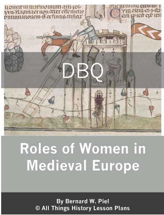 DBQ Roles Of Women In Medieval Europe Education Social
