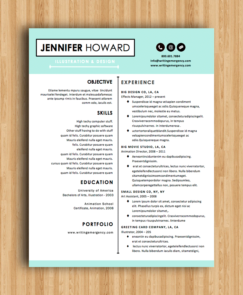 classic resumes or modern resume