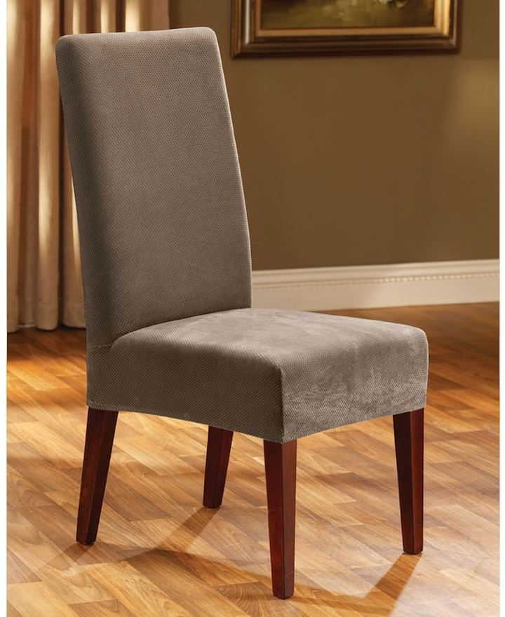 Dining Room Armchair Slipcovers: Sure Fit Pique Dining Chair Slipcover In 2019