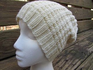 broken rib hat/Top Down Hat// CO 8 sts. Increase Round: Increase 8 stitches. Work 1 round plain. Alternate these two rounds until you reach your desired circumference. Work in your pattern until your hat is long enough. Then work some ribbing, or don't.