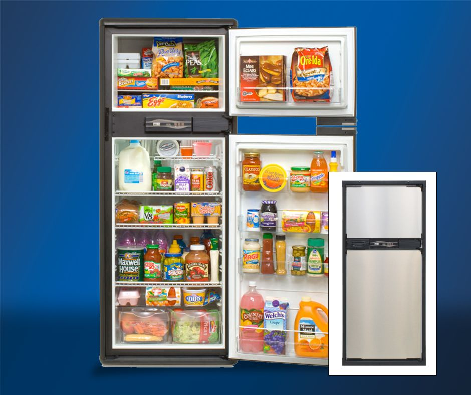 The Norcold Refrigerator With Ice Maker 9 5 Is Ultra Thin With A